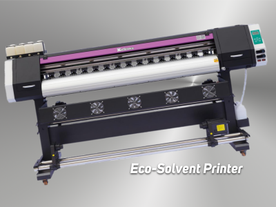 EDA 180Cm Tek Kafa Eco-Solvent Printer