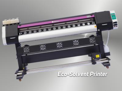 EDA 180Cm Tek Kafa Eco-Solvent Printer