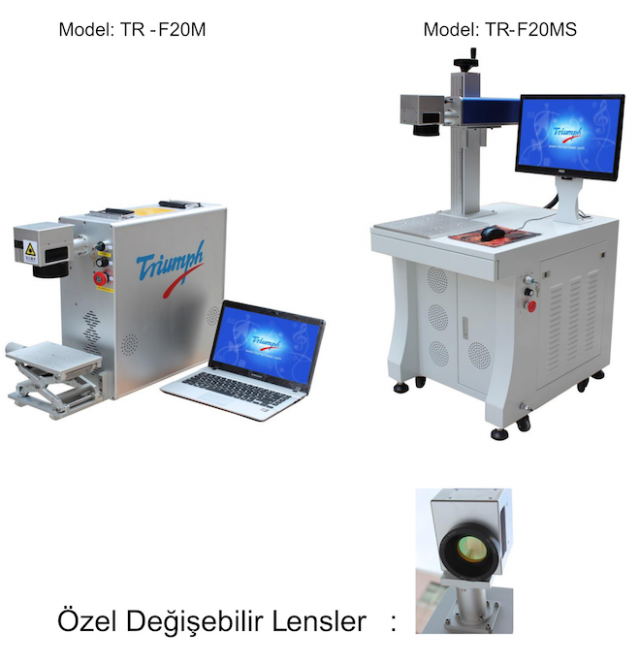 masaüstü fiber lazer modelleri